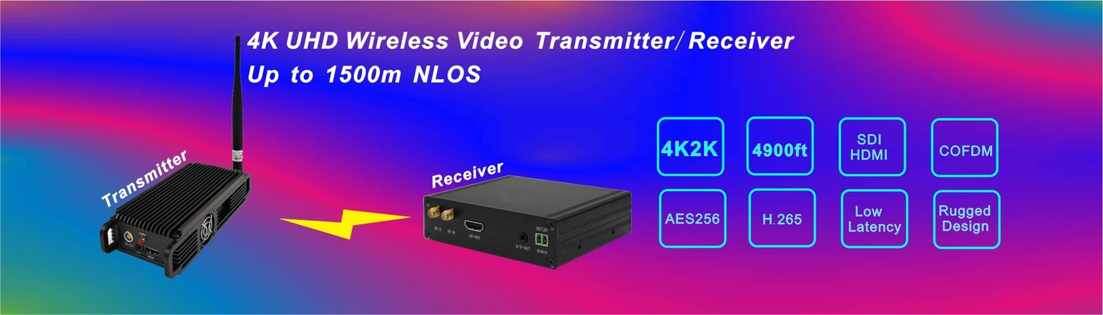 quality Video Wireless Transmitter factory