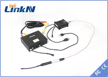 China High Definition COFDM Transmitter NLOS 2KM LOS 20KM With Digital AES 256 Encryption supplier