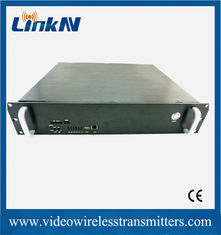 China CODFM Vehicle Mountable 20 Watts SDI HD Wireless Transmitter with CE Certificate supplier