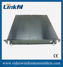 China COFDM Full HD Wireless Transmitter , High Resolution Wireless Video Sender supplier