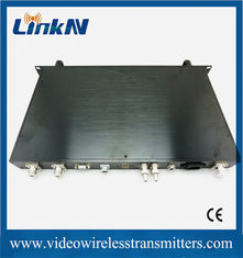 China Rack Mountable COFDM Receiver HD / SD Wireless Audio Video System supplier
