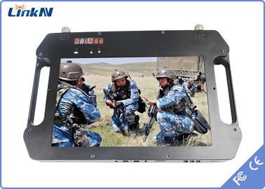China QPSK COFDM Receiver , Portable Video Receiver 256 - bit AES Encryption factory