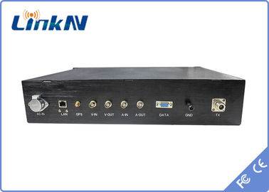 10W rack mount TDD Transmitter , hd video transmitter bidirectional transmission