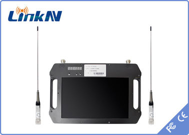 China Battery Powered 4 Hours COFDM Receiver , Digital Video Receiver Outdoor factory