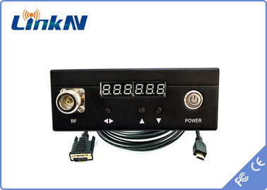 H.264 HDMI / AV COFDM Video Wireless Transmitter With Digital LED Control Panel