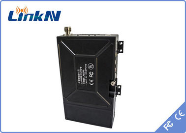 China COFDM Video Wireless Transmitter 33dBm / 37dBm Adjustable With 12V/7800mAh Battery factory