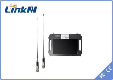 China QPSK Hdmi Wireless Receiver AES256 Encryption Dual Antenna Reception 10.1 Inch LCD Screen factory