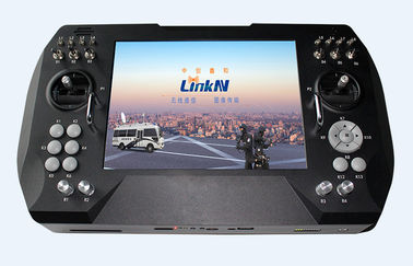 Vehicle Handheld COFDM Receiver 9.7 Inch High Clear Bright Screen Unmanned